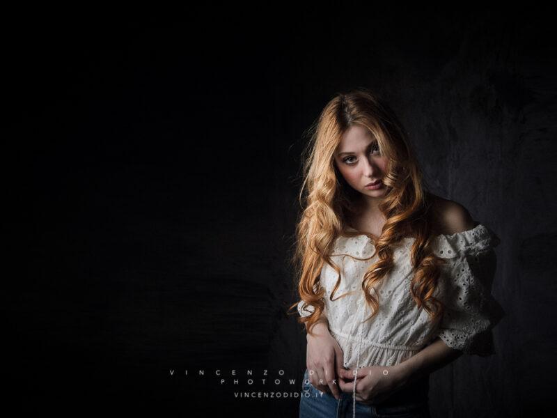 Rossella Strano - Vincenzo Di Dio Fotografo Ritratto