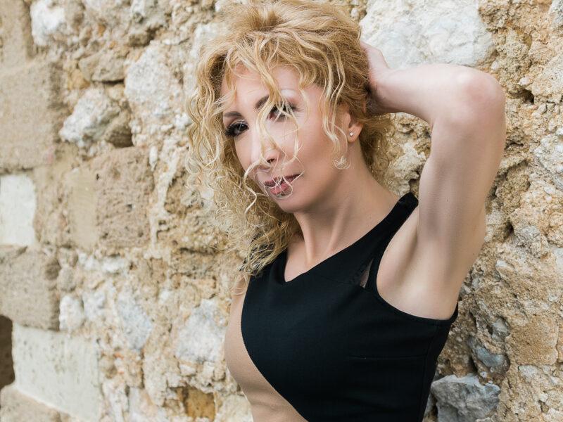 Loredana Melodia Cantante Jazz - Vincenzo Di Dio Fotografo Sicilia